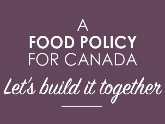 Have your say in Canada's Food Policy